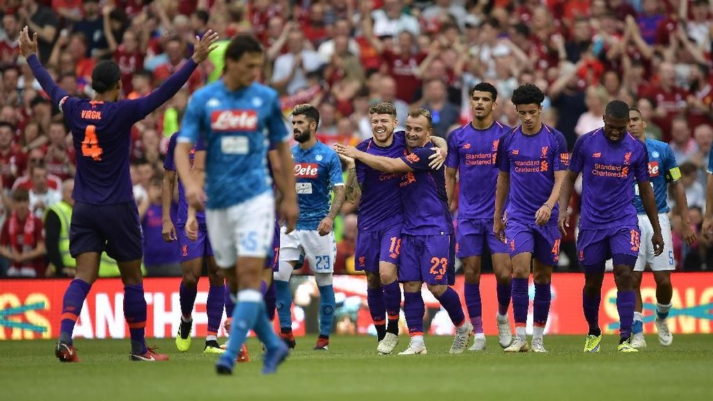Alisson Debut, Liverpool Libas Napoli dan Catat Clean Sheet