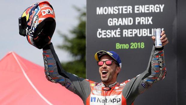 Andrea Dovizioso mengalami kesialan di sejumlah seri yang membuatnya punya jarak besar dari Marc Marquez.