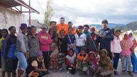 Bersandal Jepit, Anak Pedalaman Papua Latihan Gerak Jalan untuk 17-an