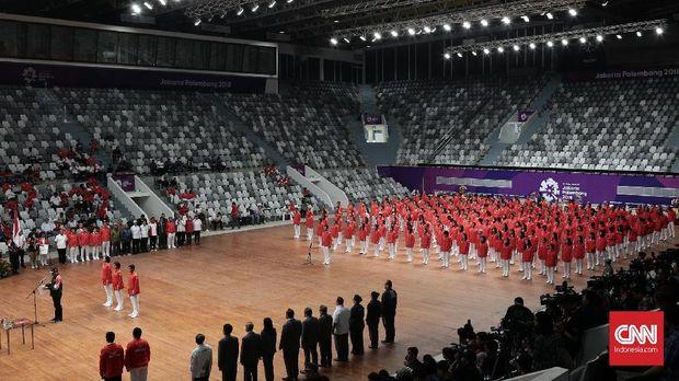 Jumlah atlet Indonesia yang tampil di Asian Games 2018 jauh lebih banyak dibanding saat di Asian Games 2014 yang hanya 188 atlet.