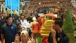 Saat Jokowi dan Cucu Asyik Bermain di Transmart Carrefour Bogor
