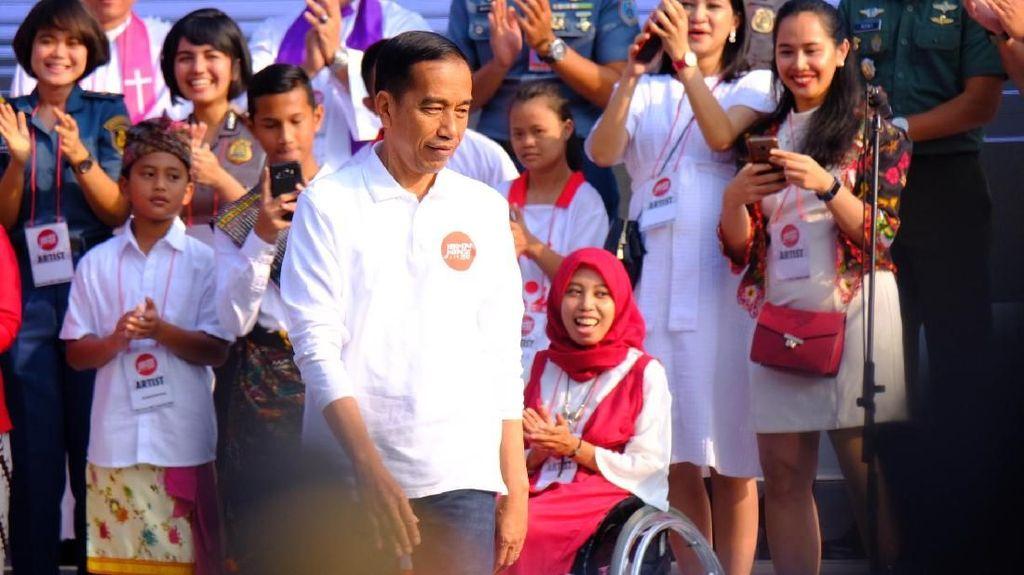 Jokowi: Masa Depan Ekonomi RI di Tangan Anak Muda Kreatif