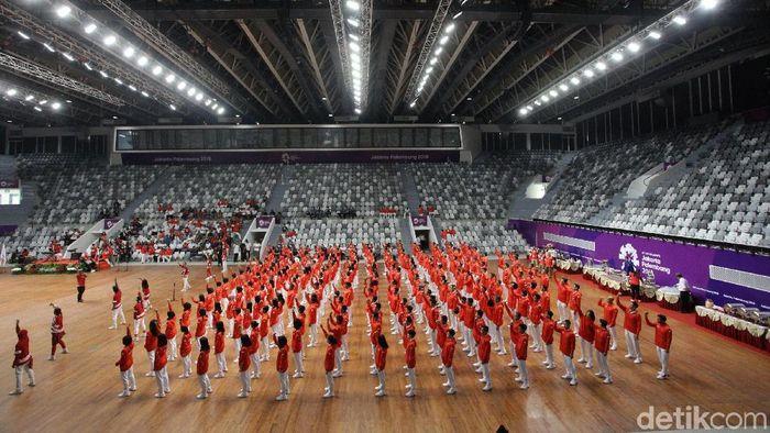 Para atlet Asian Games 2018 mendapat uang saku Rp 1 juta/hari (Grandyos Zafna/detikSport)