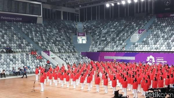 Kontingen Indonesia di Asian Games 2018 Resmi Dikukuhkan