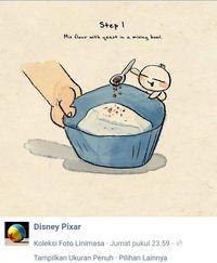 Yuk Coba! Resep Bakpao Disney 'Bao' yang Dibagikan Lewat FB