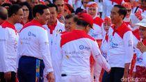 Jokowi Salami Anies hingga Menteri Usai Pecahkan Rekor Poco-poco