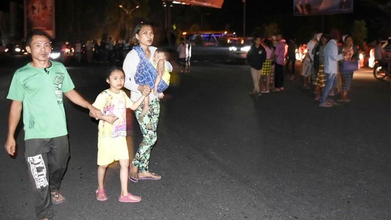 Turis di Gili Trawangan Dievakuasi, Diperkirakan Ada 1.000 Orang
