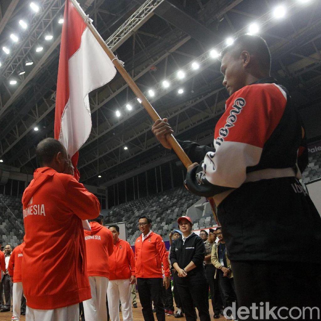 Kontingen Asian Games Indonesia Resmi Dikukuhkan