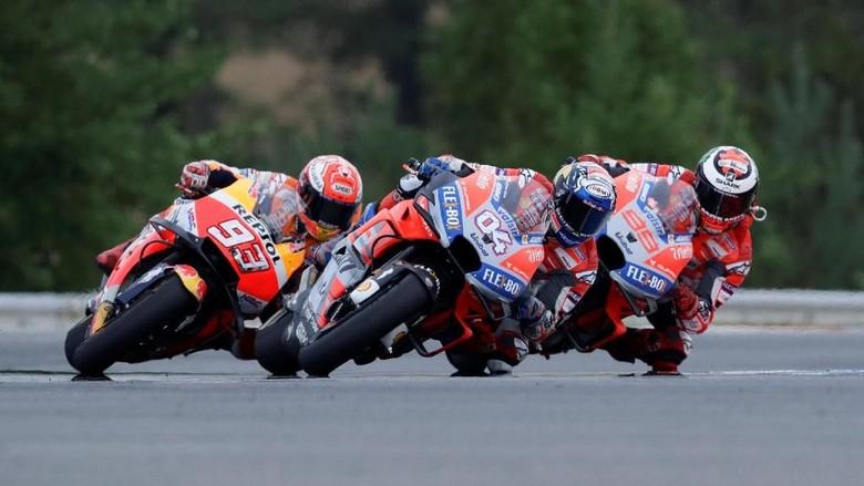 Dovizioso Menangi MotoGP Republik Ceko, Ducati Finis 1-2