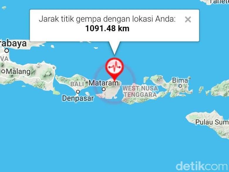 Belasan Korban Gempa Lombok Timur Dilarikan ke Pos Kesehatan TNI