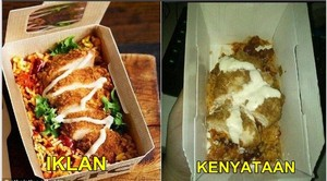 8 Meme Ekspektasi Vs Realita Makanan Ini, Aslinya Bikin Sedih!