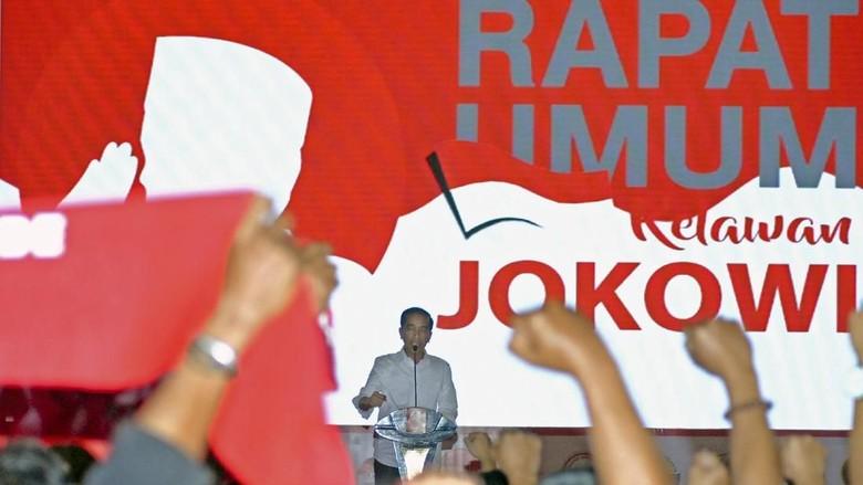 Jokowi Minta Relawan Berani Jika Diajak Berantem, PKB: Maksudnya Baik