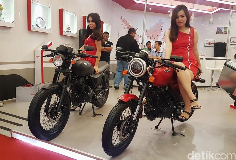 Duo Motor Klasik Viar. Foto: Rangga Rahadiansyah