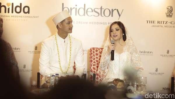 Pernikahan Tasya Kamila dan Randi Bachtiar