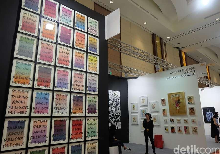 Jalan-jalan ke Mall Sambil Lihat Karya di Art Jakarta 2018