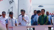 Jokowi Resmikan Venue Jetski dan Berlayar untuk Asian Games
