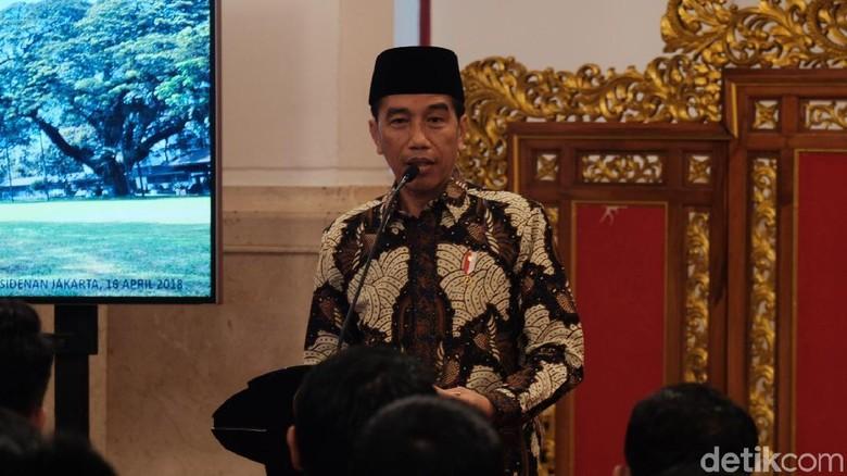 Jokowi: Inisial Cawapres Saya Depannya Pakai M