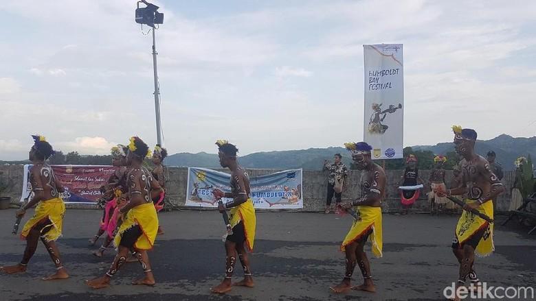 Perhelatan Festival Teluk Humbold 2018 di Jayapura (Wilpret/detikTravel)