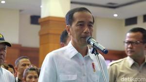 Jokowi Tiba di NTB, Tinjau Penanganan Korban Gempa