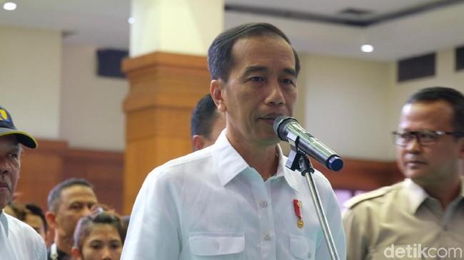 Foto: Presiden Jokowi (Andhika Prasetya/detikcom)