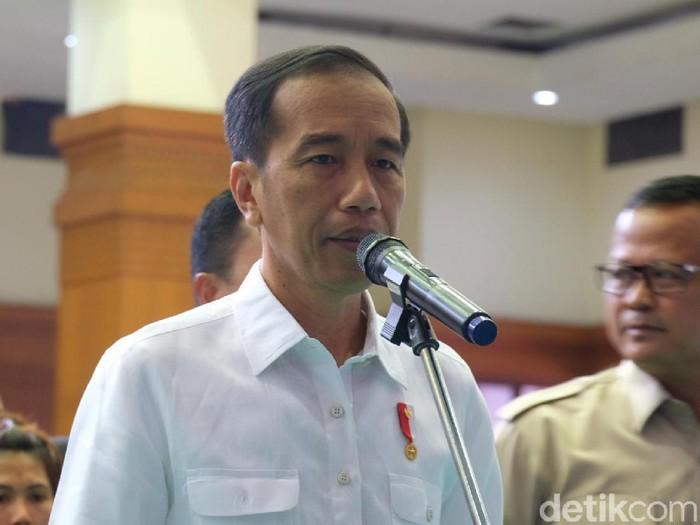 Presiden Jokowi (Andhika Prasetya/detikcom)