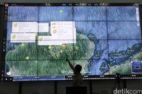 Pantau gempa NTB melalui layar raksasa BNPB