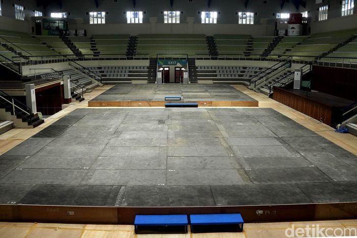 Begini penampakan venue pencak silat yang siap dipakai untuk Asian Games pada 18 Agustus 2018 mendatang.