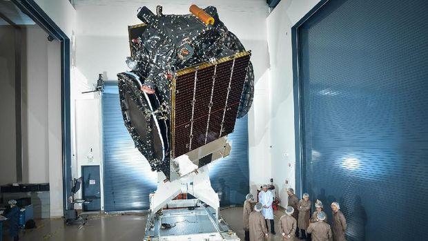 Begini Tahapan 'Petualangan' Satelit Merah Putih di Antariksa