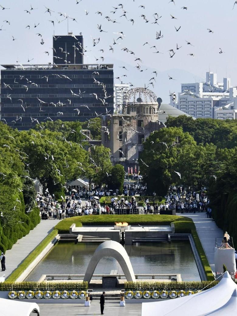 Jepang Peringati 73 Tahun Bom Atom Hiroshima