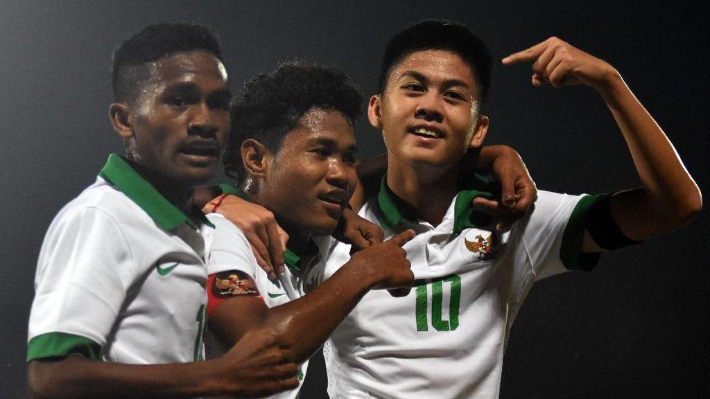 5 Pemain Timnas U-16 Pembobol Gawang Vietnam