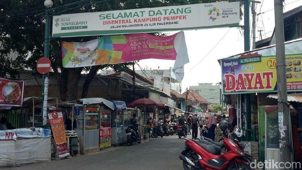 Sambut Asian Games, Palembang Bagi-bagi 1.818 Pempek Gratis