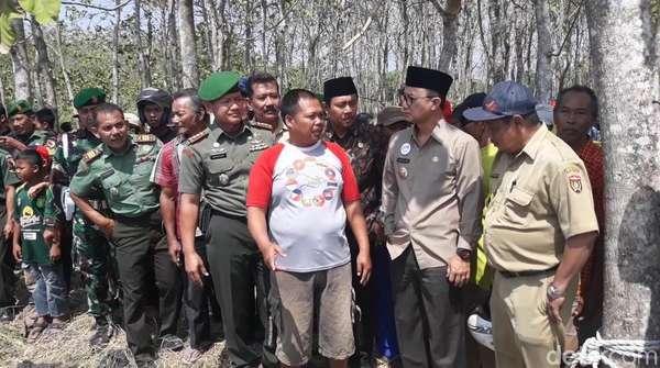 Semburan Air Campur Lumpur di Ngawi, Ini Kata Bupati