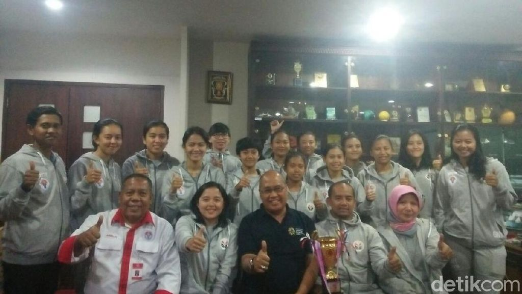 Kemenpora Sambut Juara Futsal Putri di Turnamen Malaysia