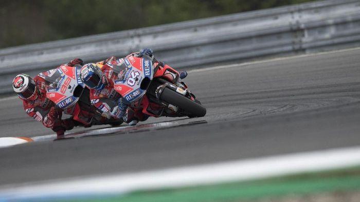 Andrea Dovizioso juara MotoGP Republik Ceko. (Foto: Mirco Lazzari gp/Getty Images)