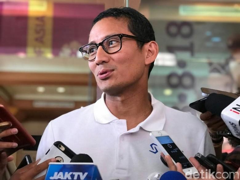 Gerindra: Sandiaga Mundur dari Wagub DKI Besok Pagi