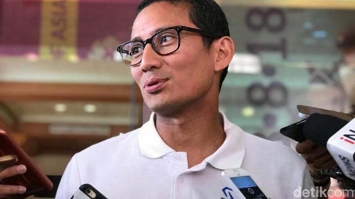 Wakil Gubernur DKI Jakarta Sandiaga Uno (Mochamad Zhacky Kusumo/detikcom)