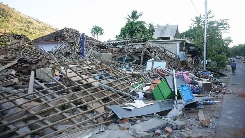 Korban Tewas Gempa Lombok Bertambah Jadi 98 Orang