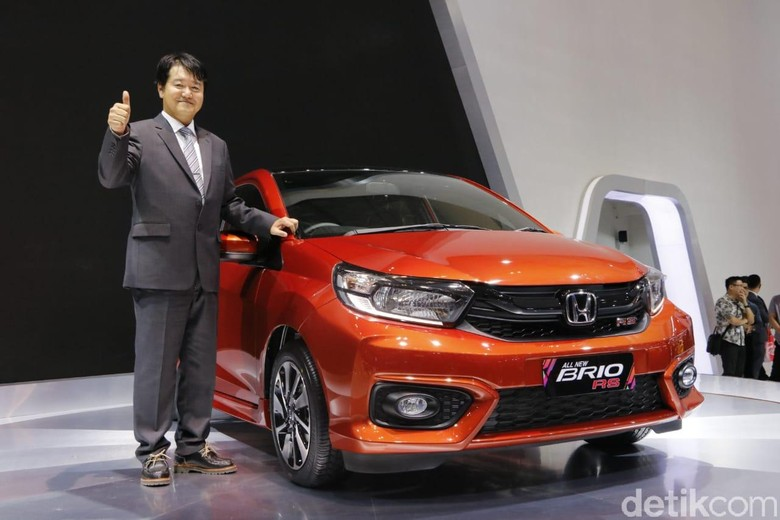 Large Project Leader All-new Brio, Honda R&D Asia Pacific Co., Ltd., Tsutomu Harano. Foto: Rangga Rahadiansyah