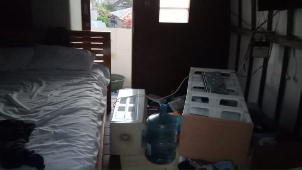 Begini kondisi kamar saya mas, ujar Antik (Antik Tri Permana/Istimewa)