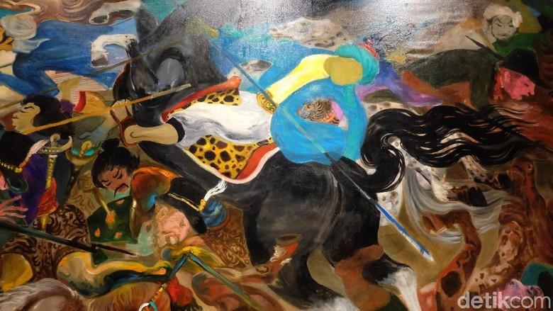 Misteri Lukisan Diponegoro yang Terluka di Akhir Hayat Hendra Gunawan