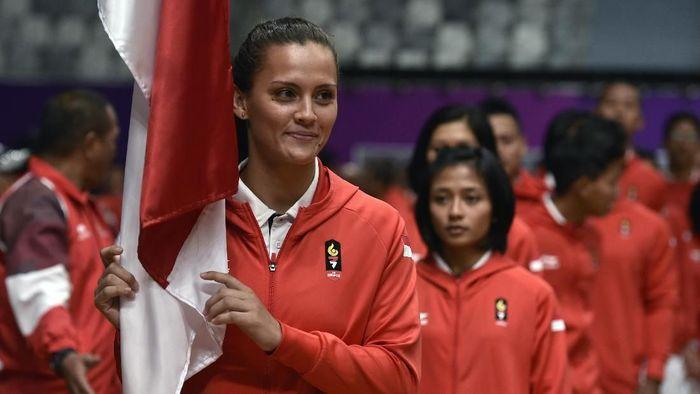 Kontingen Indonesia di Asian Games 2018 dikukuhkan kemarin (Puspa Perwitasari/ANTARA FOTO)