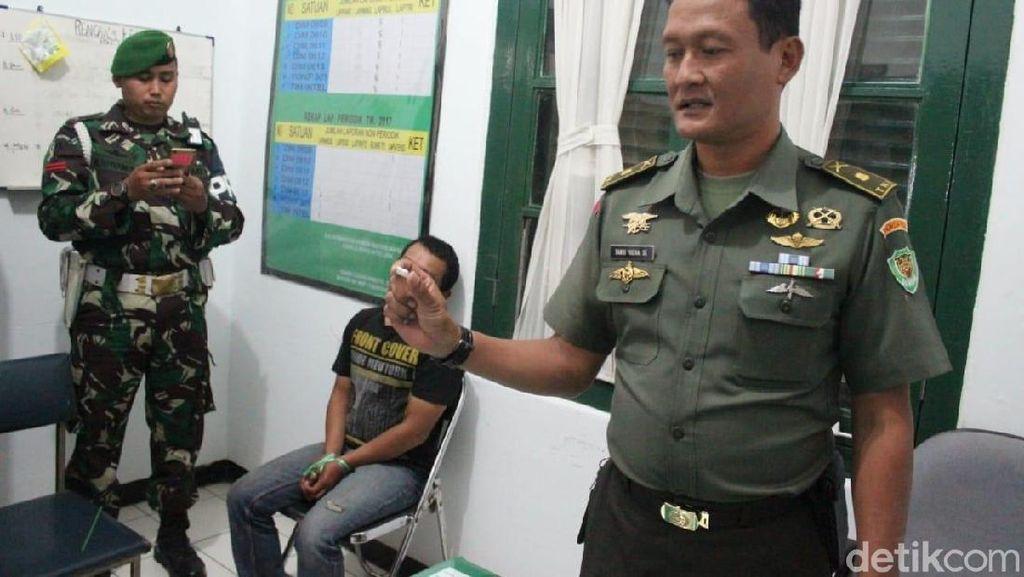 Aparat TNI Gagalkan Transaksi Sabu-sabu di Garut