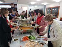 Kuliner khas Minang juga dihadirkan (dok KBRI Canberra)