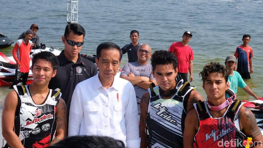 Presiden Jokowi Minta Jetski dan Layar Raih 2 Emas di Asian Games