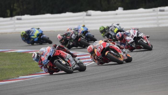 Jorge Lorenzo finis kedua dalam balapan MotoGP Republik Ceko (Foto: Mirco Lazzari gp/Getty Images)