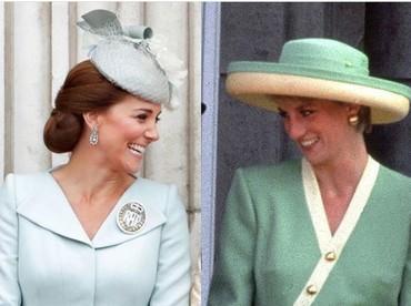 Di foto editan ini Kate Middleton terlihat tertawa akrab bersama ibu mertuanya. Hmm, dari enam foto ini, mana foto editan yang paling terlihat alami, Bun? (Foto: Instagram @dianaprincesadegales)