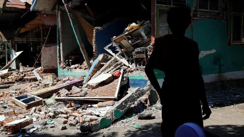 Gempa di Lombok (Dok. REUTERS/Beawiharta)