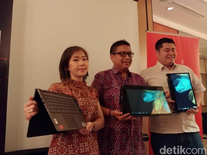 Lenovo menambah amunisi di pasar laptop Indonesia melalui Yoga 530. Foto: detikINET/Adi Fida Rahman