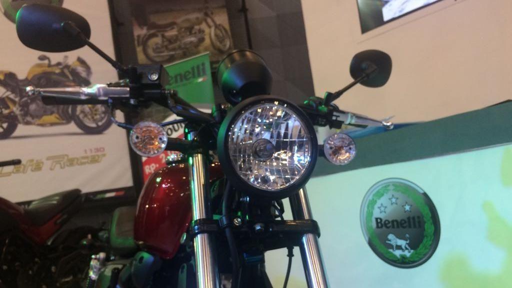 Benelli Kenalkan Motor Retro Murah Rp 30,8 Juta