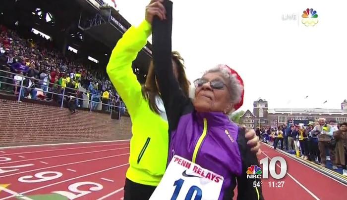 Wanita berusia 102 tahun ini telah mengikuti perlombaan lari di berbagai negara dan membuat rekor dunia. (Foto: Facebook/Ida Keeling)